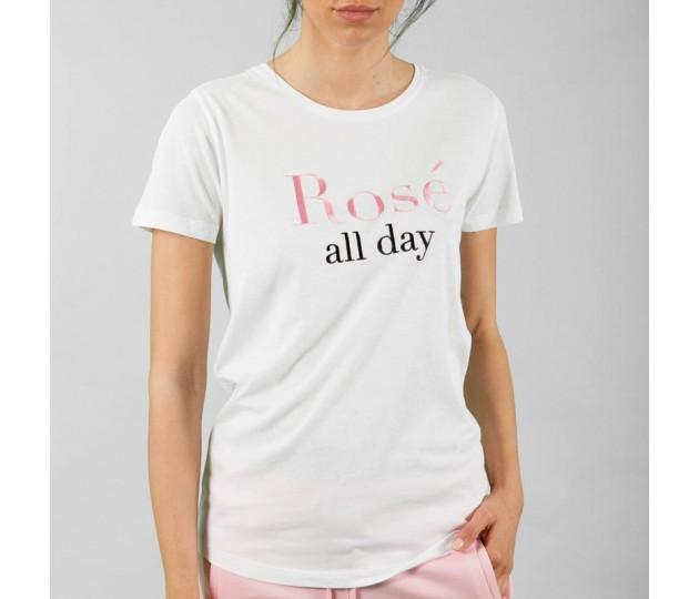 QUANTUM COURAGE Rose´all day T-shirt