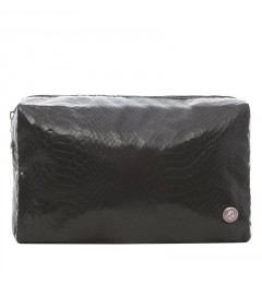 Toilet bag matt pyth. black