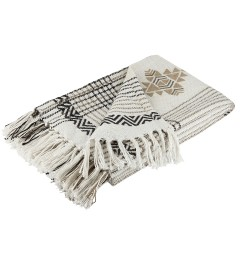 Liv Pet throw Aztec 130x180cm
