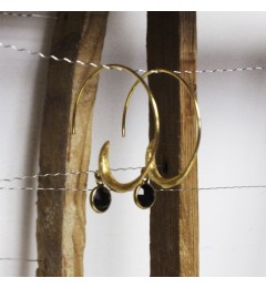 Enough Chanh earring - black onyx