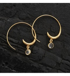 Enough Chanh earring - clear crystal