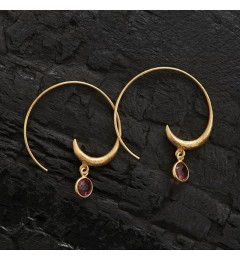 Enough Chanh earring - hydro tourmaline