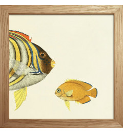 The Dybdahl Half fish 15x15, oak