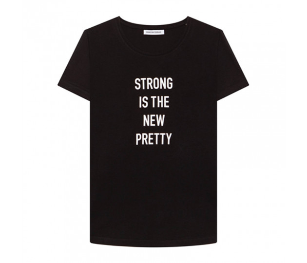 QUANTUM COURAGE Strong is the new pretty T-shirt