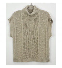 HUMBLE Ina roll neck vest