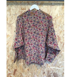 Cofur Shirt oversize sleeve Flower XL