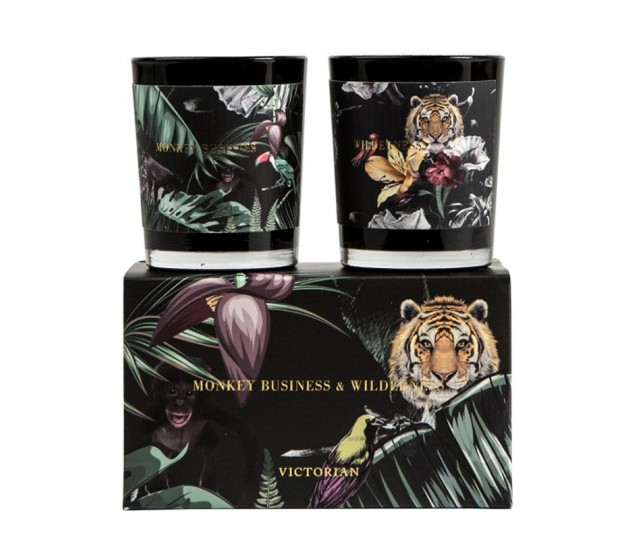Victorian candle Wilderness and Monkey Business