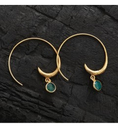 Enough Chanh earring - green onyx