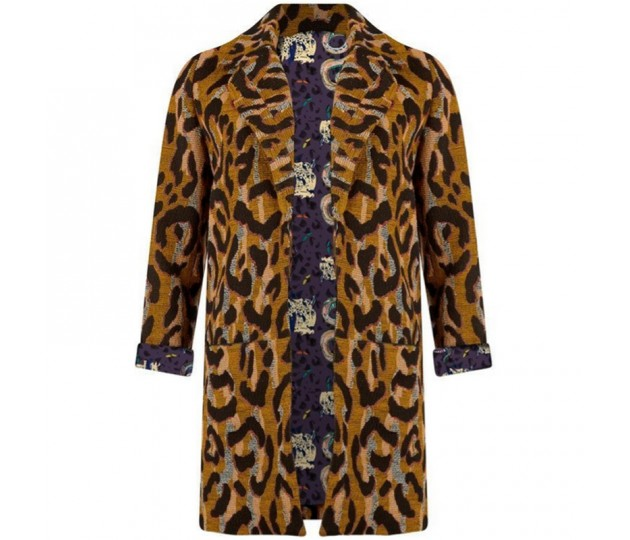 Pom A. Jacket Big Leopard