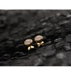 Enough Saachi stud, gold plated